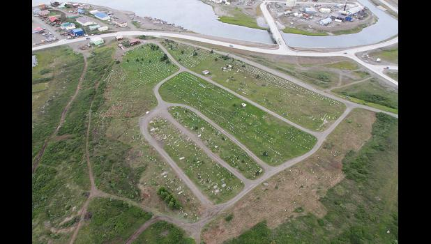 NOME MUNICIPAL CEMETERY— The city is in the process of reorganizing cemetery plot management and burial procedures.