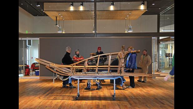 SNEAK PEEK— Nome's Carrie M.McLain Memorial Museum opened its doors to visitors during last week's Iditarod.