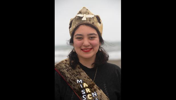 MISS ANB— Lisa Kamahamak Lynch is Miss Arctic Native Brotherhood and will represent the region at WEIO in July.