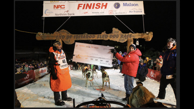 The 2021 Iditarod will not be ending in Nome due to Covid considerations.